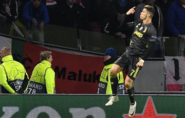 [VIDEO] Con un golazo de Cristiano, Juventus sacó un gran resultado ante Ajax