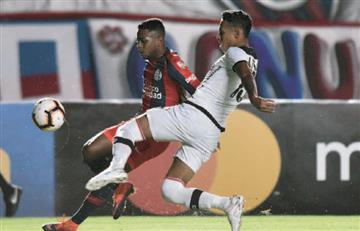 Salazar y Loaiza fueron figuras en la victoria de San Lorenzo sobre Melgar