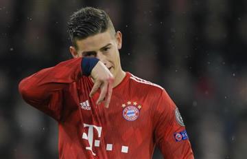 ¿James Rodríguez llegará a Arsenal?