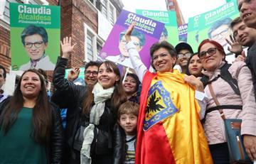 Claudia López va por la Alcaldía de Bogotá