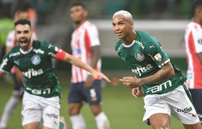 Copa Libertadores: Palmeiras venció a Junior y lo eliminó de la copa [VIDEO]