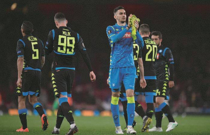 Europa League: Arsenal venció a Nápoli y se acerca a las semifinales