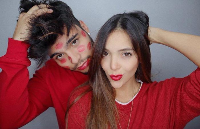La pareja ya lleva más de un año. Foto: Twitter/Maria Laura Quintero