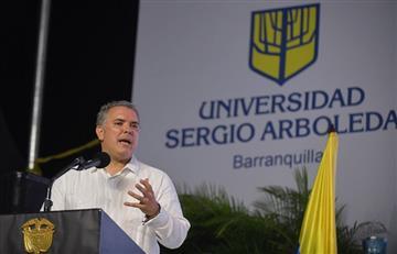 Colombia es un país soberano: Duque tras críticas de Donald Trump