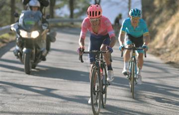 [VIDEO] Daniel Martínez continúa en el top 10 de la Vuelta al País Vasco