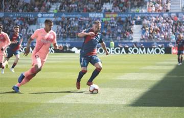 El 'Cucho' Hernández y Jeison Murillo no se hicieron daño en LaLiga