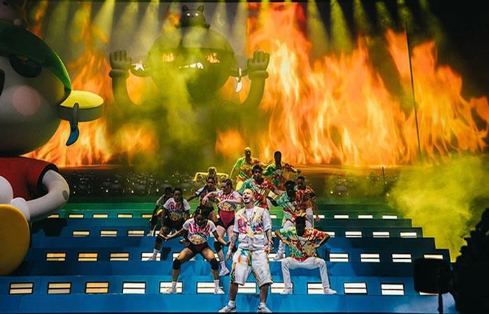 J Balvin deja en alto el talento colombiano en  Coachella 2019