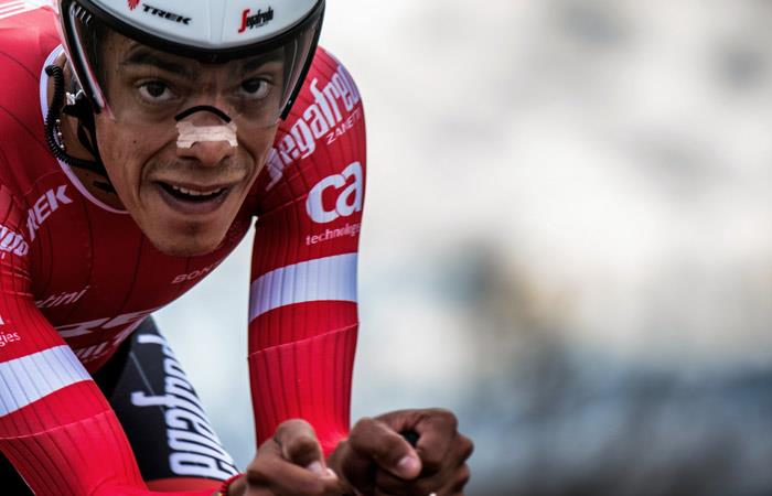 Járlinson Pantano, ciclista colombiano. Foto: AFP