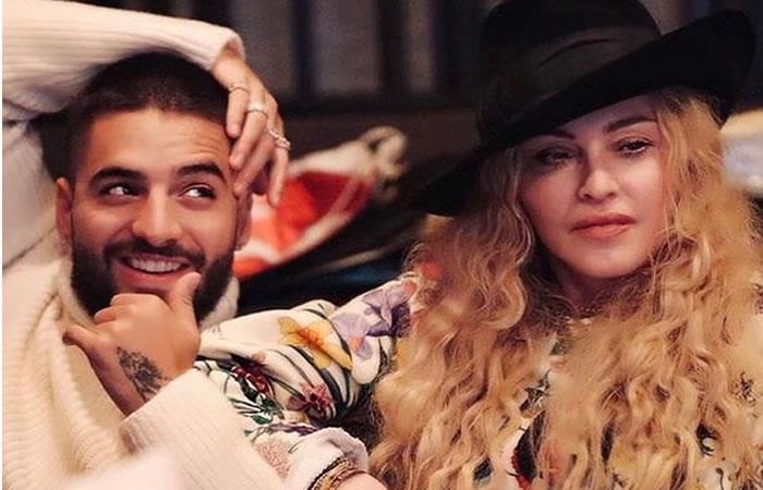 Madonna y Maluma unen sus voces para su nuevo sencillo 'Medellín'
