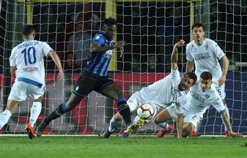 ¡Perdieron la oportunidad! Atalanta, con Duván Zapata, se aleja del cupo de Champions