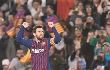 [VIDEO] Messi marca doblete y clasifica a Barcelona a las semifinales