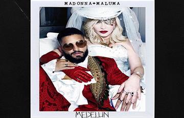 ¡Rompe en llanto! Así reaccionó Maluma al escuchar su voz junto a Madonna