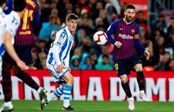 [VIDEO] Barcelona ganó y está a dos victorias de levantar el trofeo de LaLiga