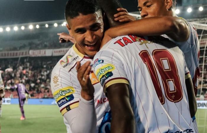 Deportes Tolima se clasificó a los cuadrangulares finales
