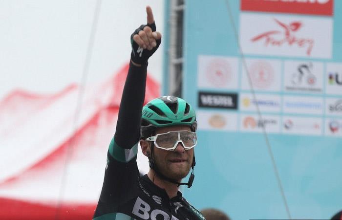 Tour de Turquía: Felix Grossschartner gana la quinta etapa