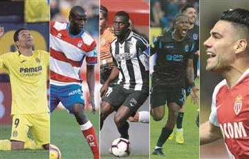 Los cinco jugadores colombianos que llegaron a 100 goles en Europa