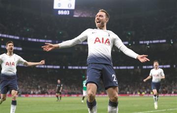 Sin Davinson, Tottenham venció a Brighton en la Premier League