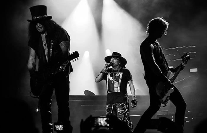 ¿Guns N´ Roses regresarían a terminar el concierto que quedó pendiente en Bogotá?