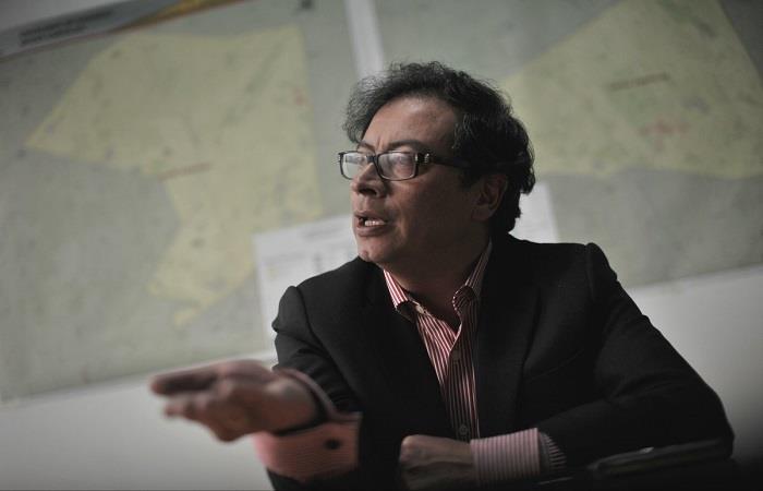 Gustavo Petro es una de las figuras más polémicas de la política colombiana. Foto: Twitter
