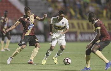 Deportes Tolima igualó con Boca y aún sueña con la clasificación