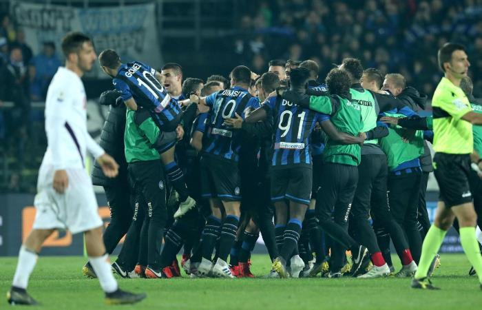 Atalanta clasificó a la final de la Coppa Italia. Foto: EFE