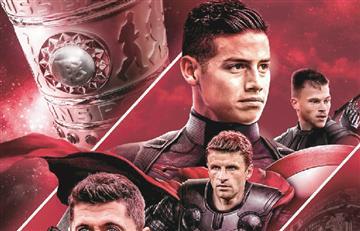 James Rodríguez es el nuevo 'Avenger'