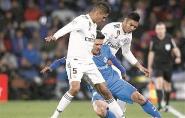Real Madrid no pasó del empate ante Getafe