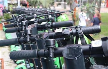 El transporte eléctrico 'Lime' llega a la ciudad