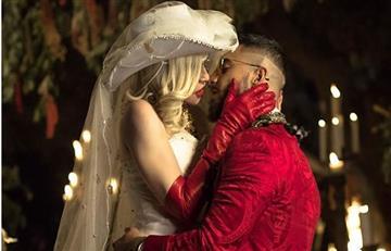 Madonna y Maluma se besan en su nuevo video 'Medellín'