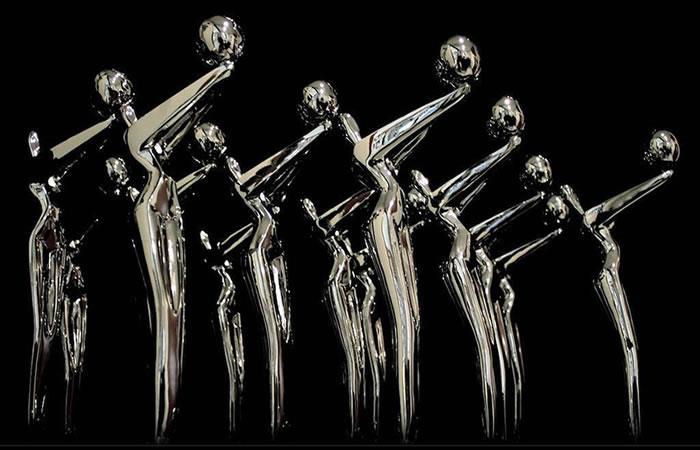 Premios Platino trofeo. Foto: Instagram/premios_platino