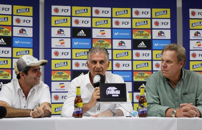 Selección Colombia: Carlos Queiroz confirmó a Barranquilla como la casa 'tricolor'