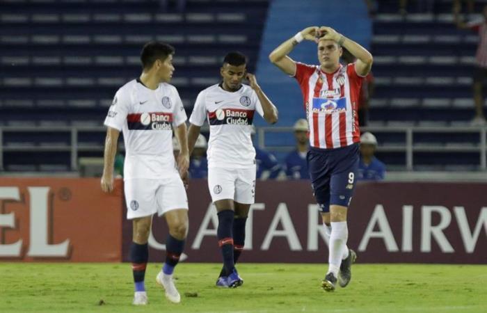 Copa Libertadores: Junior vence a San Lorenzo y sueña con la Sudamericana