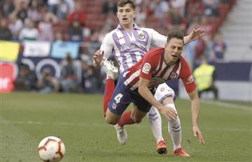 Santiago Arias fue figura en la victoria de Atlético sobre Valladolid