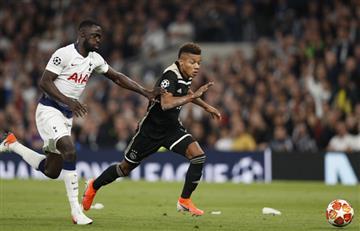 Con Davinson Sánchez, Tottenham cedió terreno en la Champions