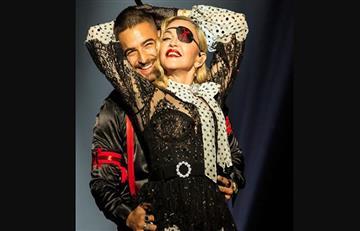 ¡Impresionante! Así fue la presentación de Maluma y Madonna en los Billboard
