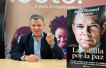 ¡Entre aplausos! Así presentó su libro el expresidente Santos en la Filbo