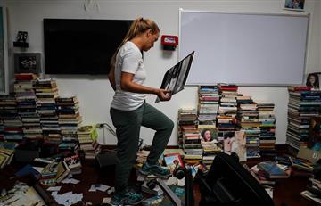 Esposa de Leopoldo López denunció robo en su casa por parte de autoridades venezolanas