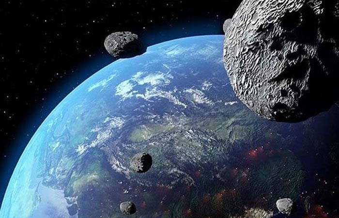 """El asteroide está en una lista que lo categoriza como """"peligroso"""". Foto: Twitter"""