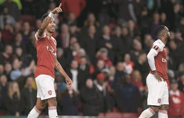 Arsenal dio un paso adelante en las semifinales de la Europa League