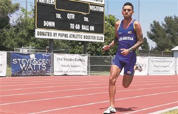Gerard Giraldo estableció nuevo récord nacional de atletismo
