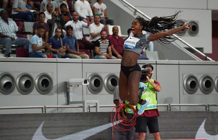 Liga Diamante: Caterine Ibargüen gana la primera parada