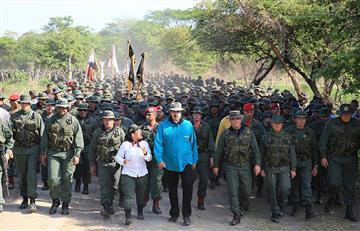 ¿Posible traición? Maduro pide a tropas militares mostrar su unión