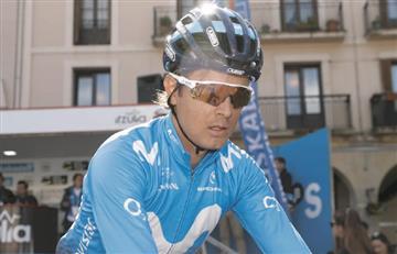 Carlos Betancur se mantiene en el top 10 del Tour de Romandía