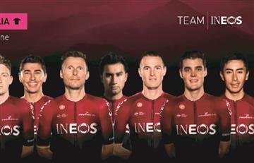 El Team INEOS confirmó a dos colombianos para el Giro de Italia 2019