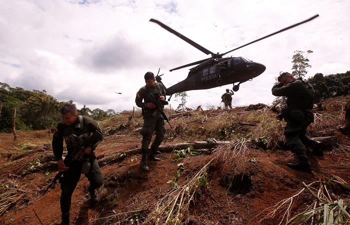 Venezuela rompió relaciones con Colombia desde el pasado 23 de febrero. Foto: EFE