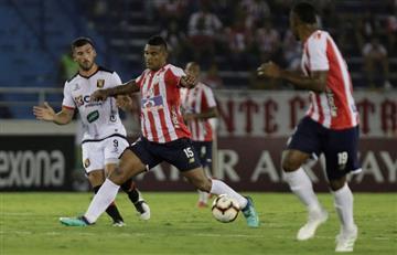 Junior perdió ante Melgar y se quedó sin Sudamericana