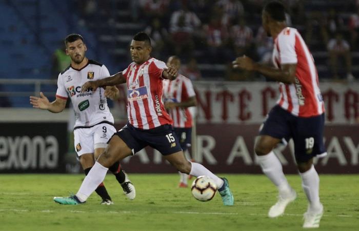 Copa Libertadores: Junior cayó en casa ante Melgar por la mínima diferencia