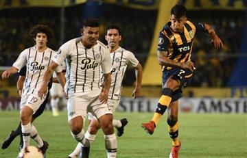 Alexander Mejía fue figura con Libertad en la Copa Libertadores