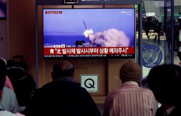 ¿Amenaza a EE.UU? Corea del Norte volvió a lanzar proyectiles en su territorio