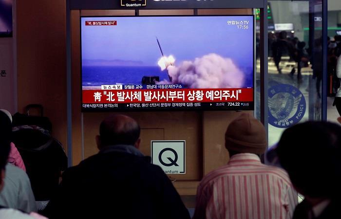 Corea del Norte lanzó nuevos proyectiles, según Corea del Sur